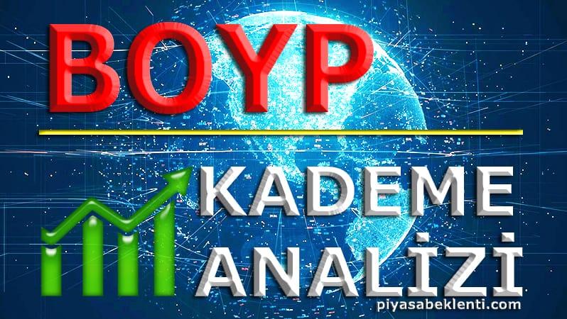 BOYP Kademe Analizi