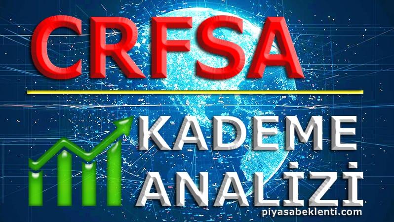 CRFSA Kademe Analizi